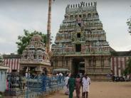 ಕ್ಷೀರವು ನೀಲಿ ಬಣ್ಣವಾಗಿ ಪರಿರ್ವತನೆಯಾಗುವ ಮಾಹಿಮಾನ್ವಿತವಾದ ರಾಹು ದೇವಾಲಯ