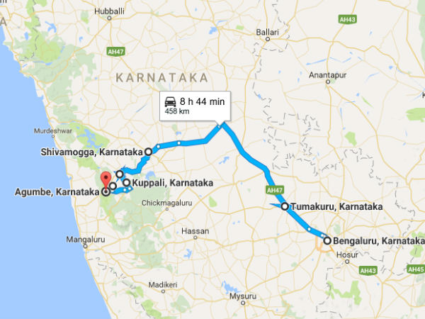 A Winter Trip From Bangalore To Agumbe