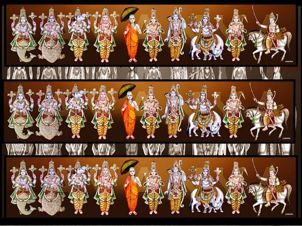 ವಿಷ್ಣುವಿನ ದಶಾವತಾರ ದೇವಾಲಯಗಳು ಎಲ್ಲೆಲ್ಲಿವೆ ಗೊತ್ತಾ?