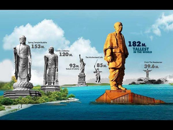 ಗುಜರಾತ್ನಲ್ಲಿ ನಿರ್ಮಿಸಲಾಗಿರುವ ಏಕತೆಯ ಪ್ರತಿಮೆ ಬಗ್ಗೆ ನಿಮಗೆಷ್ಟು ಗೊತ್ತು<br />