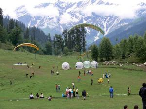 Important Paragliding Locations India