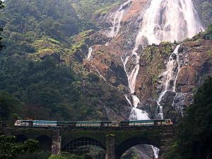 Dudhsagar The Milky Fall India