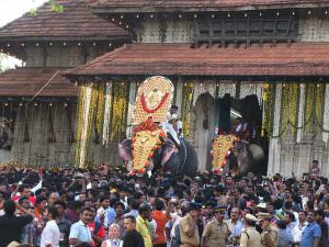 Thrissur Pooram The Celebration Fire Crackers