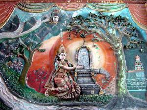 Kanchi Kamakoti Peetam The Divine Abode Kamakshi Devi