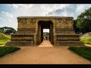 Wonderful Underground Temple Shiva Hampi