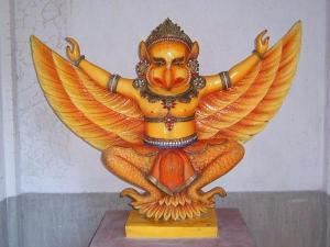 Malai Mandala Perumala Temple Vishnu Garuda