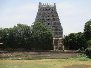 Saranathan Temple Temple With Interesting Background
