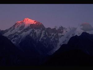 Kinnaur Kailash Sacred Mountain Both Hindus Buddhists