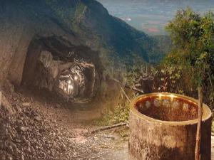 The Golden Well Tirumala