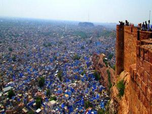 What Are The Colored Cities India