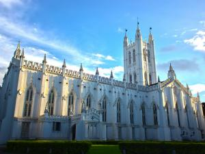 Stunning Churches India Built Gothic Architectural Style