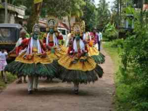 Different Dances In Kerala