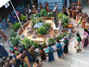 Peole Are Going Dhanvantri Temple Chennai For Shani Shanti Homa