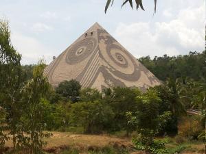 Meditational Pyramid Pyramid Valley Bangalore