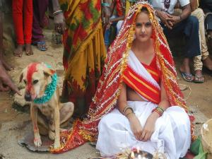 Girl Married Dog In Jharkhand
