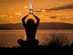 Indulge Beer Yoga For International Yoga Day In New Delhi