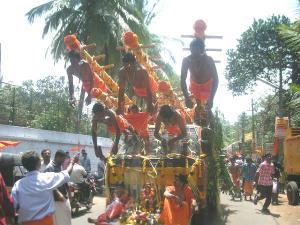 Garudan Thookkam Strange Rituals In Kerala Where Devotees Hang By Hooks