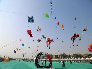 International Kite Festival Uttarayan Ahmedabad