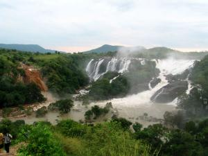 Attractions How Reach Gaganachukki Bharachukki Falls Shivana