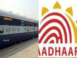 Benefits Linking Aadhaar With Irctc Account