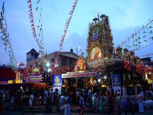Pazhavangadi Maha Ganapathy Temple Trivandrum History Att