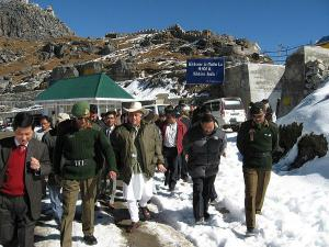 Nathula Pass Near Indo China Border Attractions How Reach