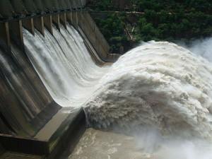 Srisailam Dam Spot Beautiful Krishna River