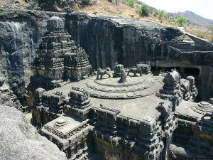 Kailash Temple Ellora An Amazing Piece Rock Cut Architectu