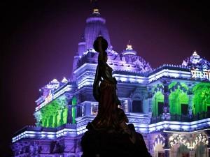 Prem Mandir Vrindavan Home Divine Love