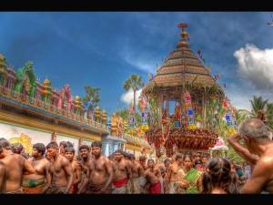 Some Beautiful Temple Cars Tamilnadu