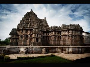 Beautiful Temple Lakshminarayana Hosaholalu