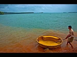 Honnemaradu Tourist Place On The Backwaters Sharavathi Riv