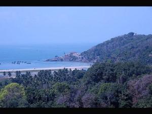 Vengurla Silent Sea Shore Town Konkan Region