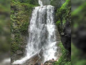 Hebbe Falls A Beautiful Falls In Chikmagaluru