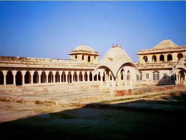 The Sand Dunes Village Khimsar In Rajasthan